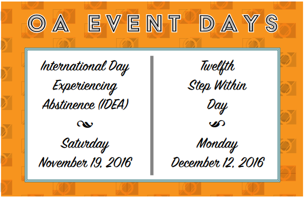 OA Event Days